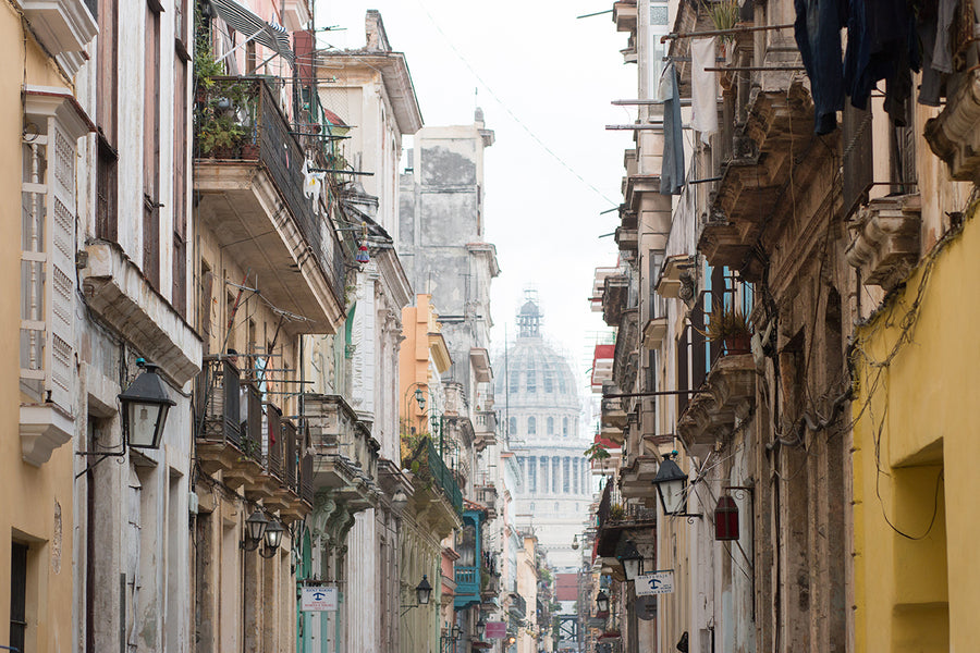 The Old Streets of Havana Cuba