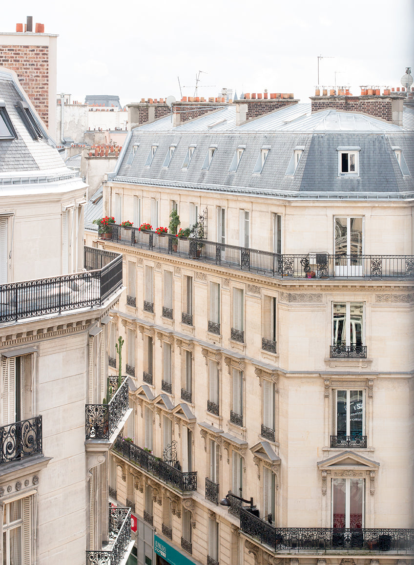 Rooftop View Overlooking Avenue de L'Opera - Every Day Paris