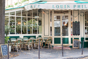 Café Louis Philippe in the Fall - Every Day Paris