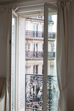 Paris Apartment Window on the Left Bank - Every Day Paris