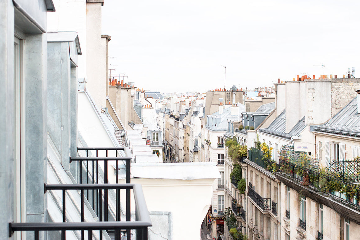 Right Bank Parisian Rooftop Views - Every Day Paris