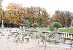 The Start of Fall in Luxembourg Gardens - Every Day Paris