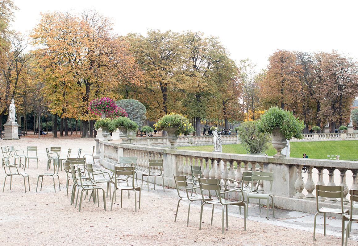 Fall Morning in Luxembourg Gardens - Every Day Paris