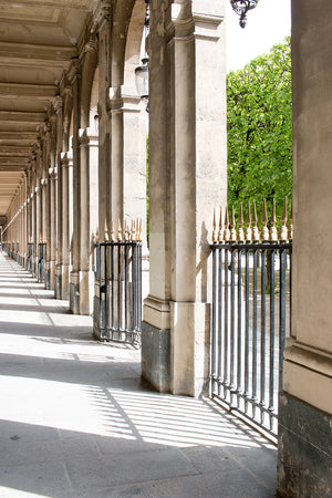 Spring Morning Light in Palais Royal - Every Day Paris