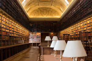 Paris Luxembourg Palace Library - Every Day Paris