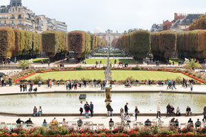 Fall Afternoon in Luxembourg Gardens - Every Day Paris
