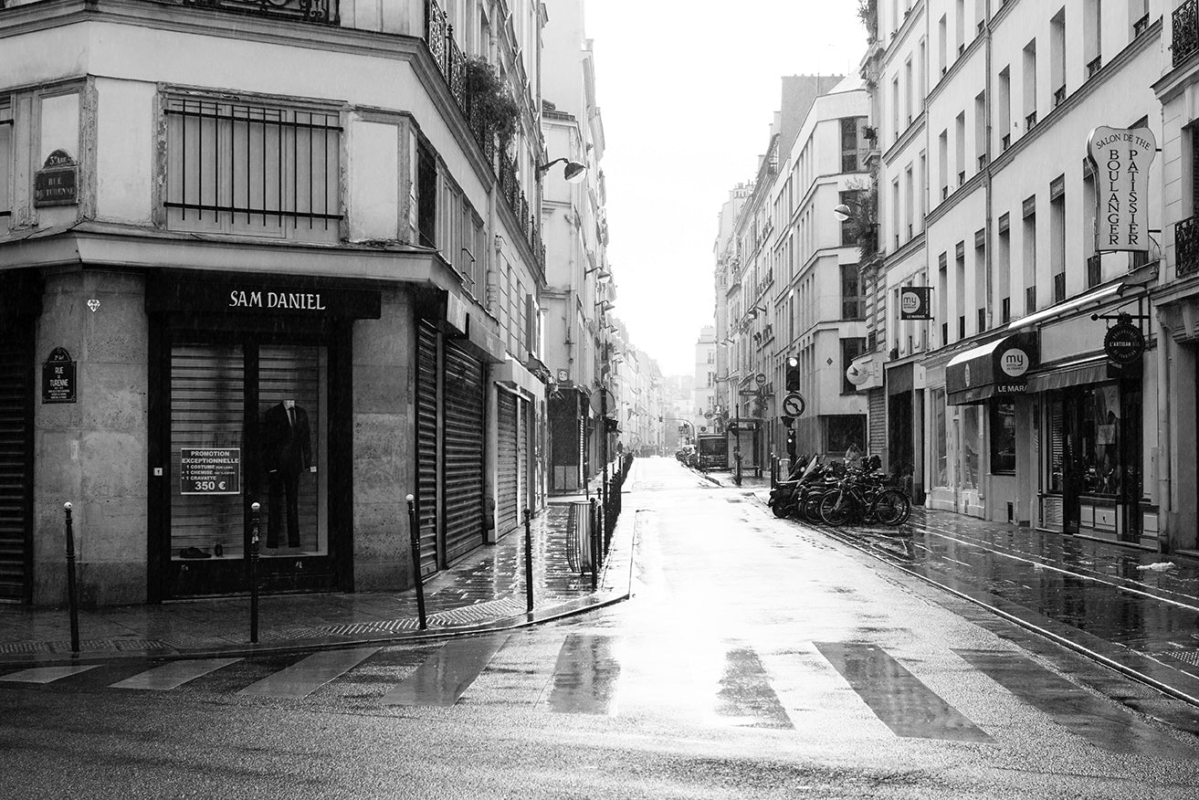 Paris black and white rebecca plotnick photography