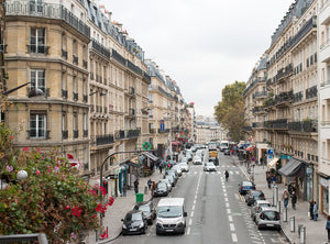 Left Bank View of Paris Rue Monge - Every Day Paris