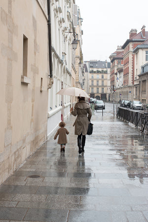 Mother and Daughter on the Streets of Paris - Every Day Paris