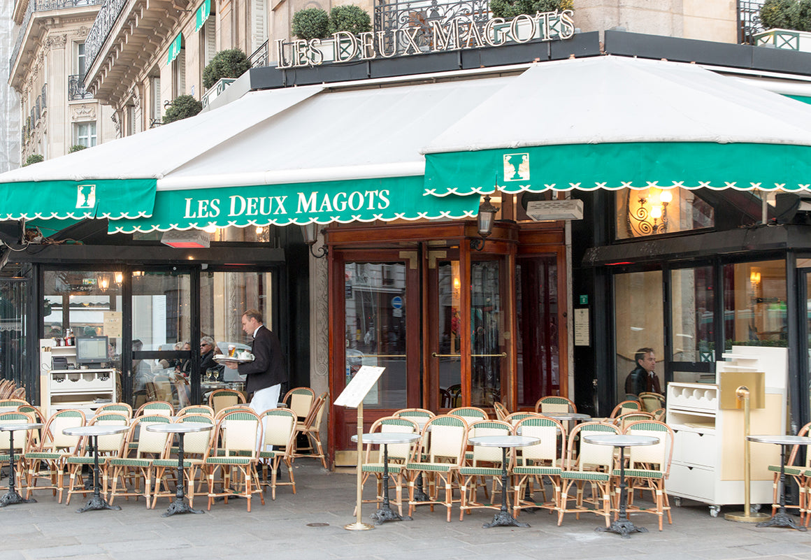 Morning at Café Les Deux Magots - Every Day Paris