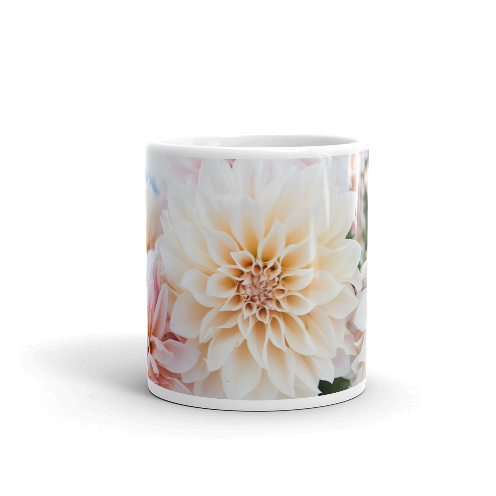 Beautiful Dahlia Flower Drinks Mug Cup Kitchen Birthday Office Fun Gift #16634