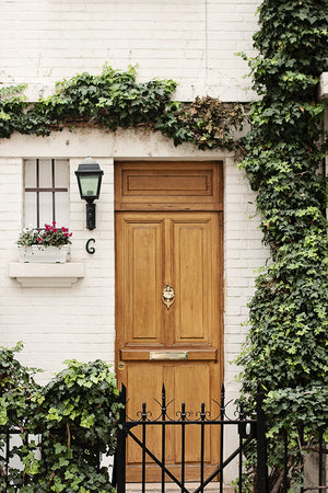 Fall Door in Montmartre - Every Day Paris