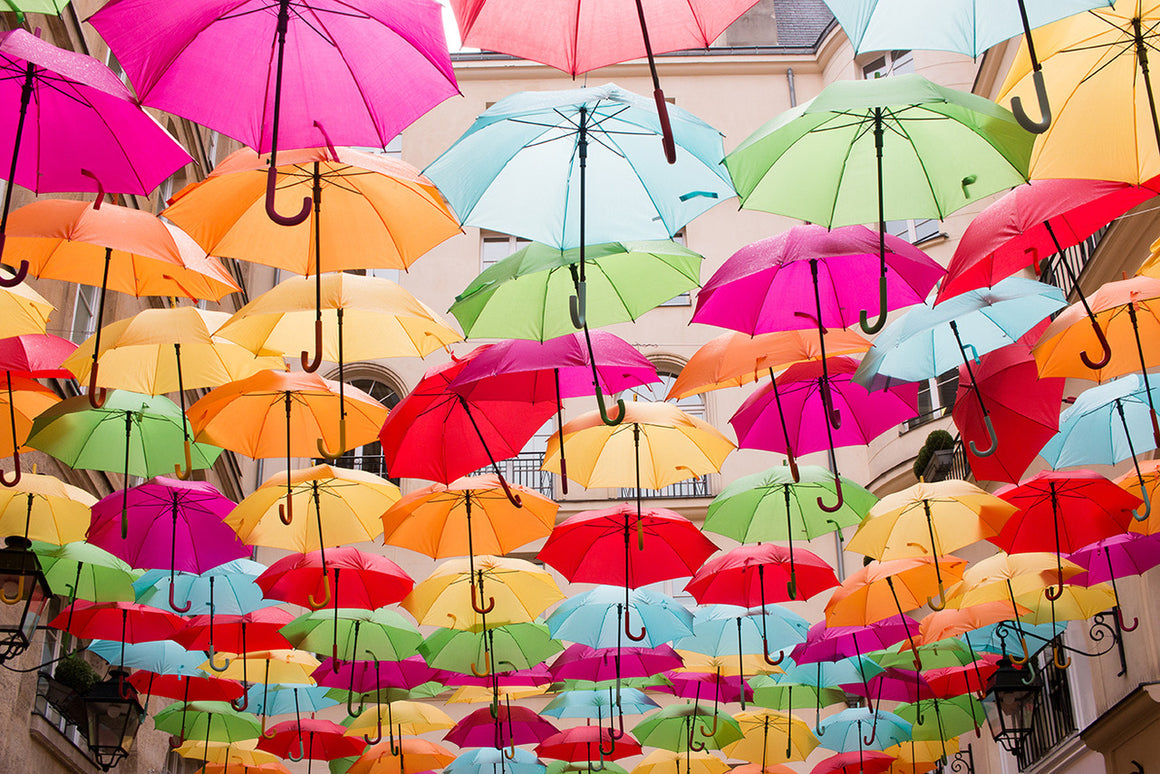 Le Village Royal Umbrellas in Paris - Every Day Paris