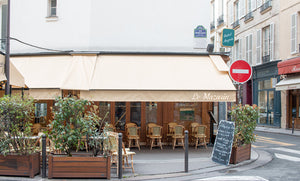 Rue Mazarin Left Bank Café - Every Day Paris