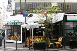 Left Bank Parisian Café La Palette - Every Day Paris