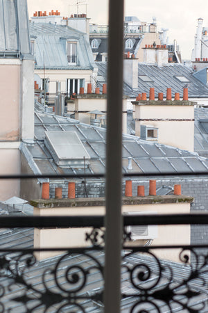 Montmartre Parisian Balcony Window - Every Day Paris