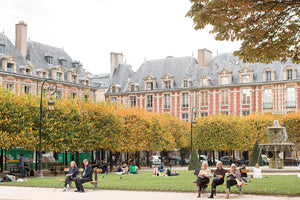 Fall in Place des Vosges - Every Day Paris
