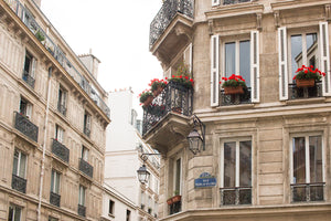 Parisian Balcony on the Right Bank - Every Day Paris