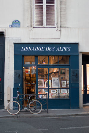 Bookshop on Rue de Seine - Every Day Paris