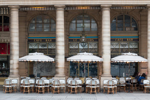 Morning at Café Nemours Paris - Every Day Paris