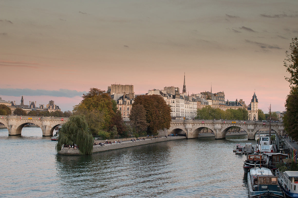 Fall Sunset on the Seine - Every Day Paris