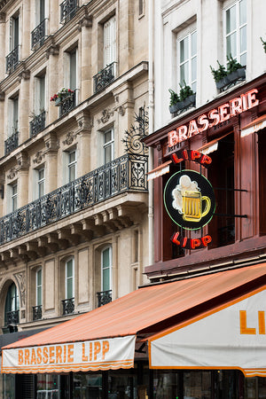 Brasserie Lipp Left Bank Paris - Every Day Paris