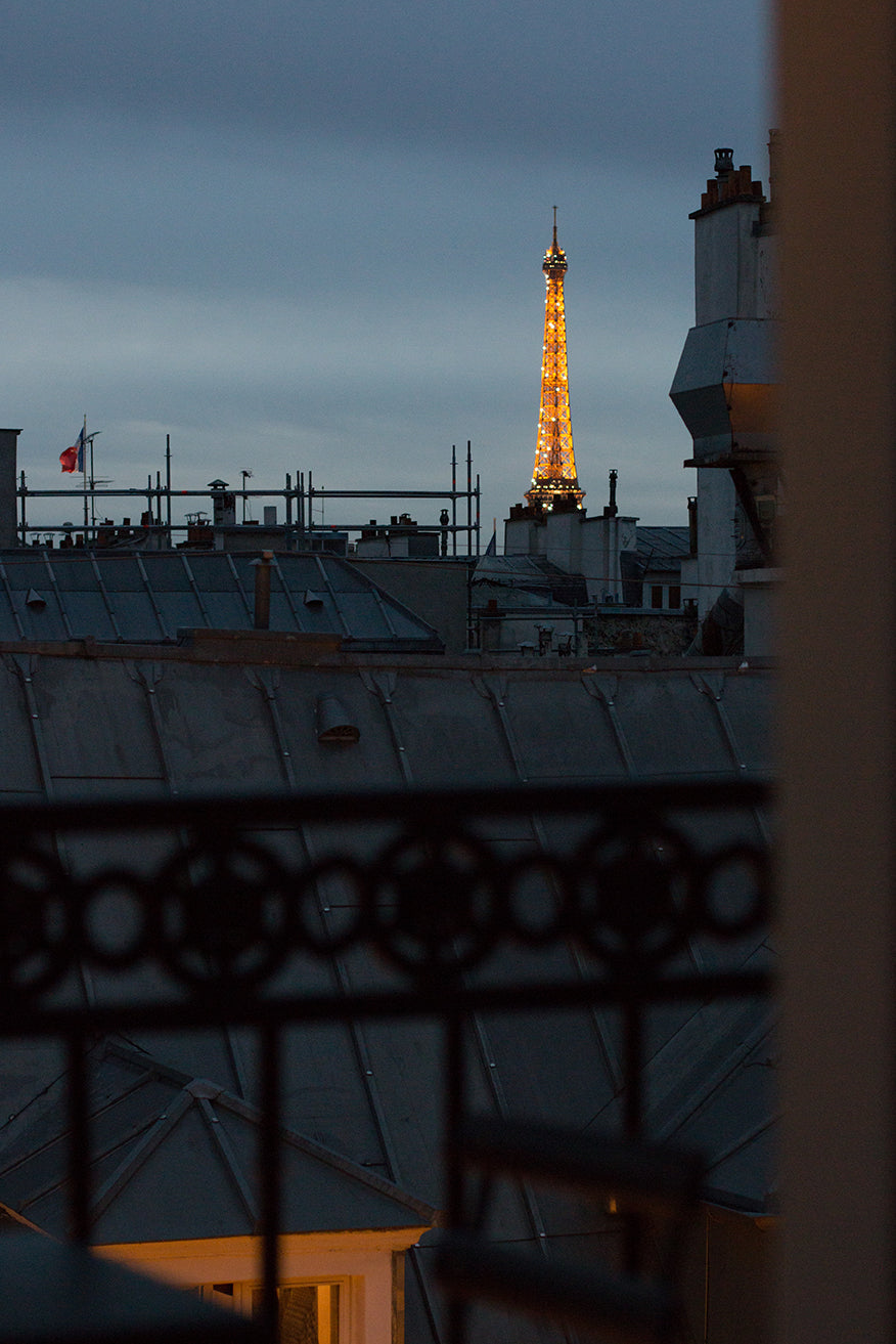 Parisian Balcony with an Eiffel Tower View - Every Day Paris
