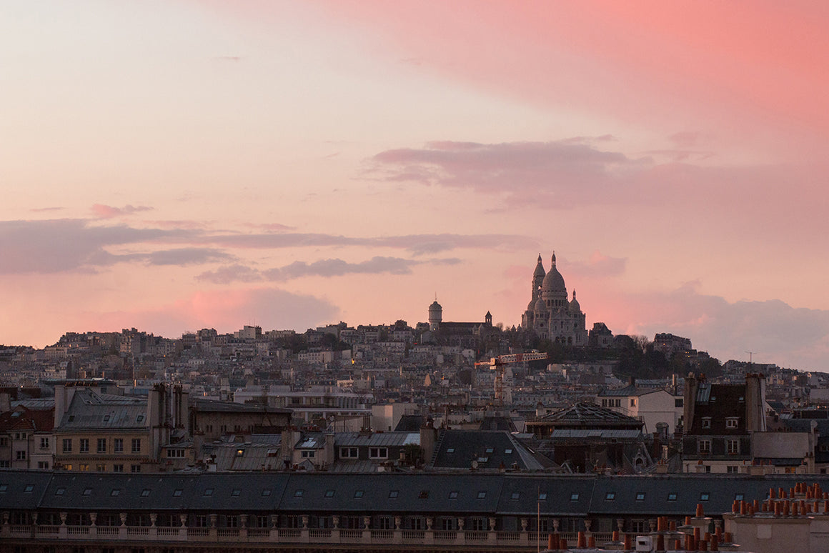 Montmartre Sunset View in Paris - Every Day Paris