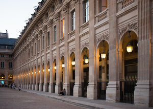 Last light at Palais Royal - Every Day Paris