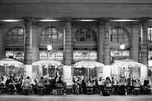 Evening at Café Nemours Paris - Every Day Paris