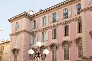 Pink Buildings in Nice France - Every Day Paris