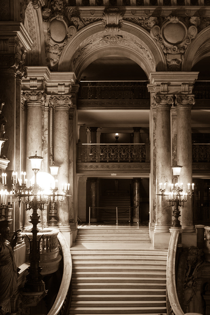 Paris Opera House Stairs - Every Day Paris