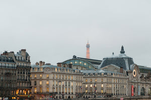 On the Seine overlooking the Musée D'Orsay - Every Day Paris