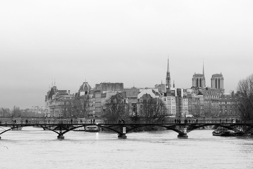 Walking the Seine in Black and White - Every Day Paris