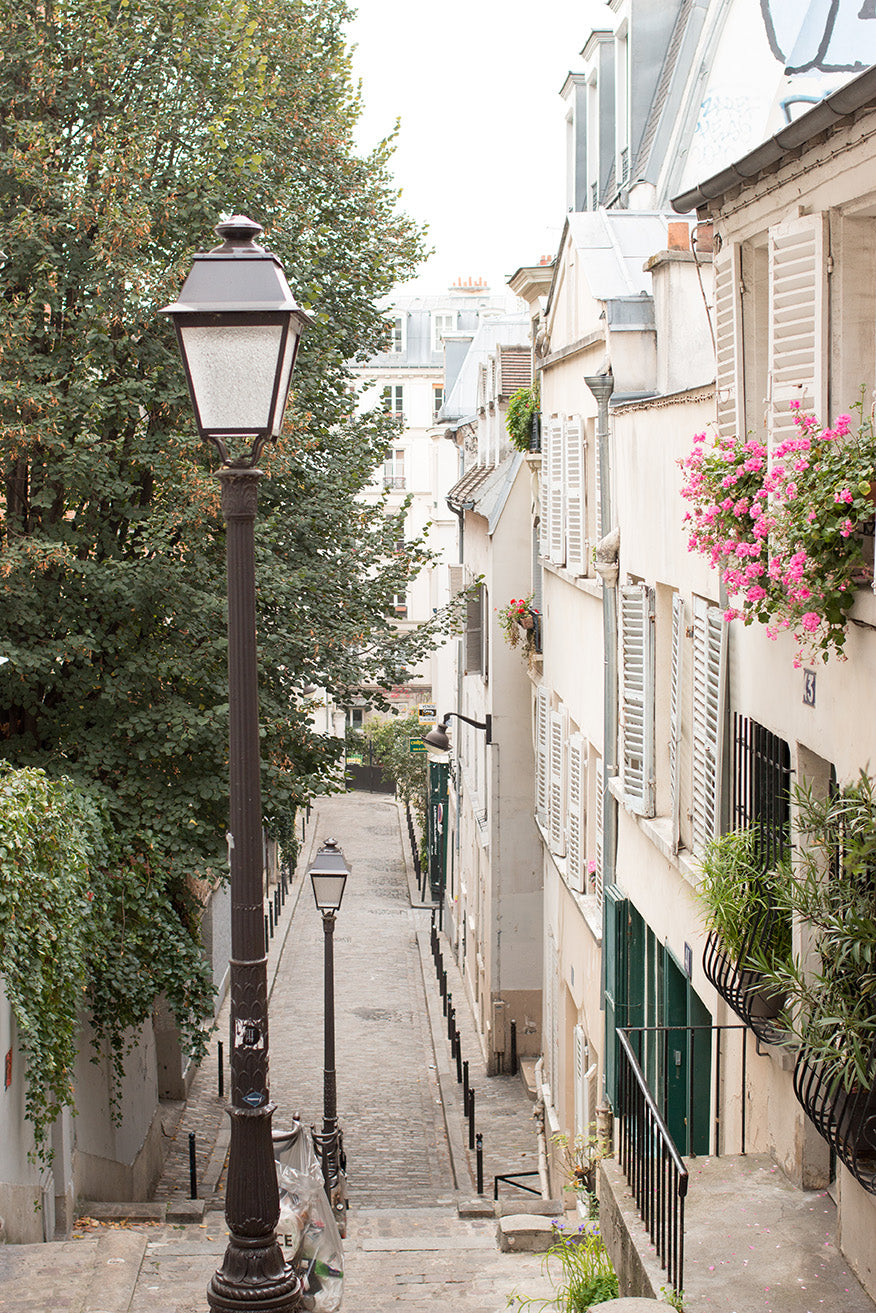 Fall views in Montmartre