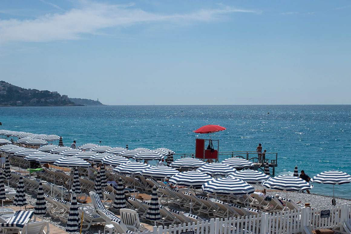Summer Beach Days in Nice France