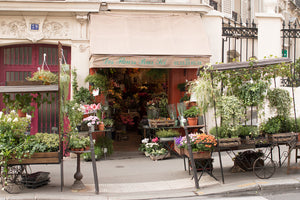 Montmartre Flower Shop in Paris - Every Day Paris