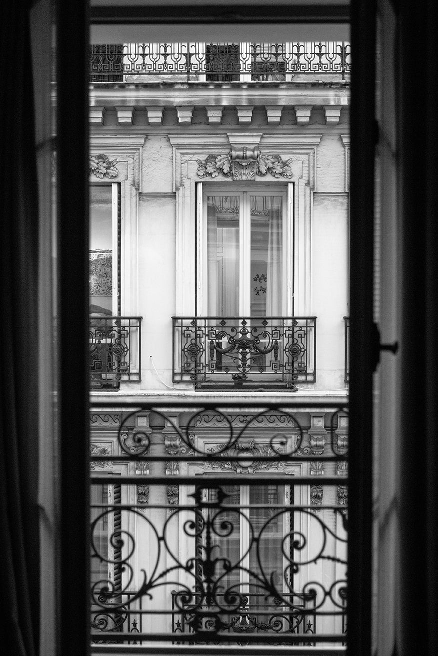 Paris Window at Dusk - Every Day Paris