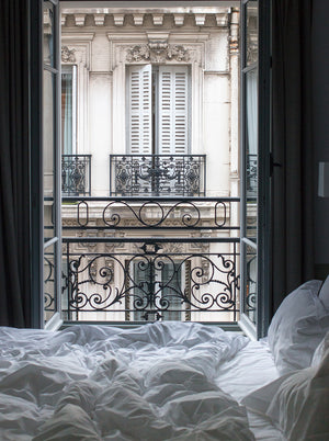 Parisian Bedroom Scene - Every Day Paris