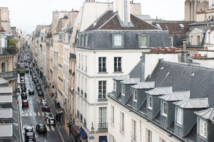 Rue Jacob Parisian Rooftop View - Every Day Paris