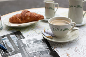 Coffee and Croissants at Café de Flore