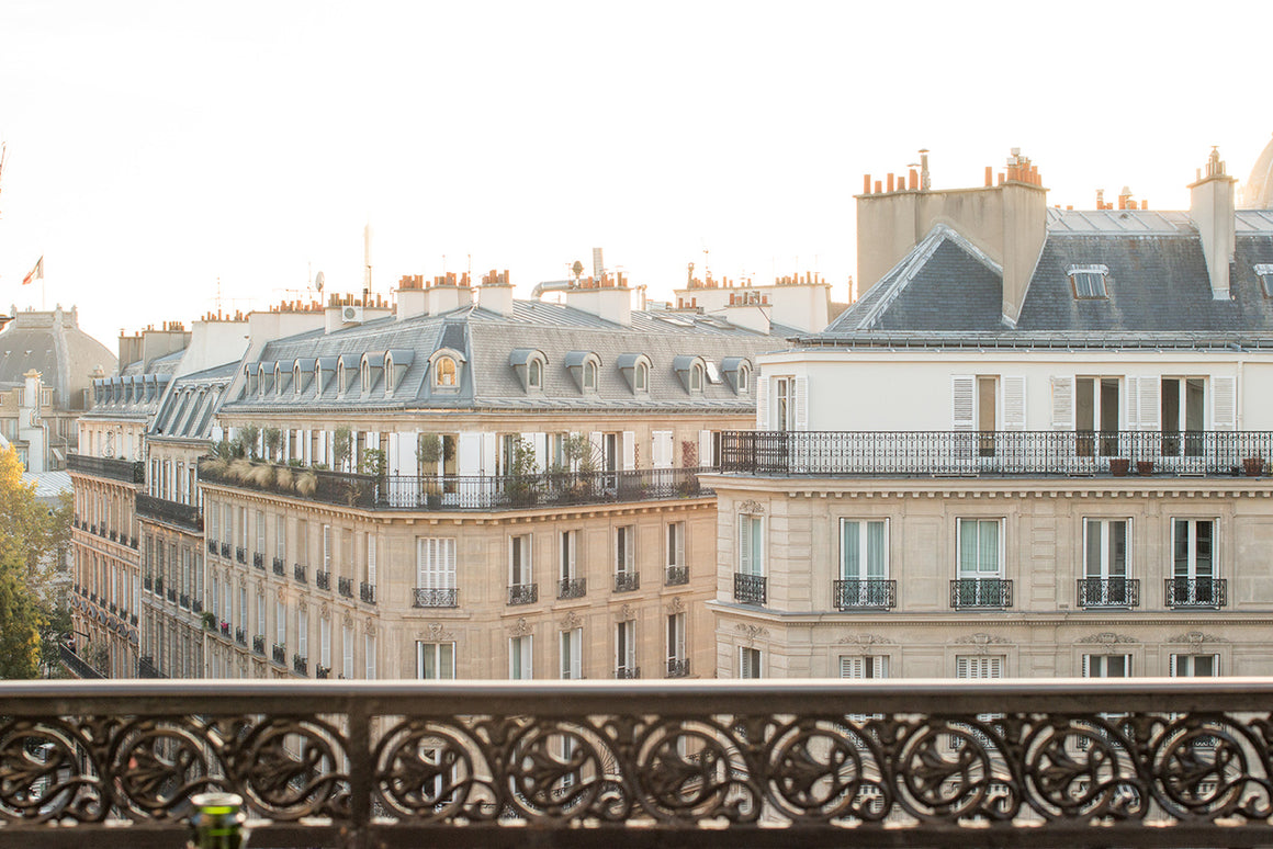 Right Bank Balcony Overlooking Paris - Every Day Paris