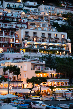 Evening in Positano