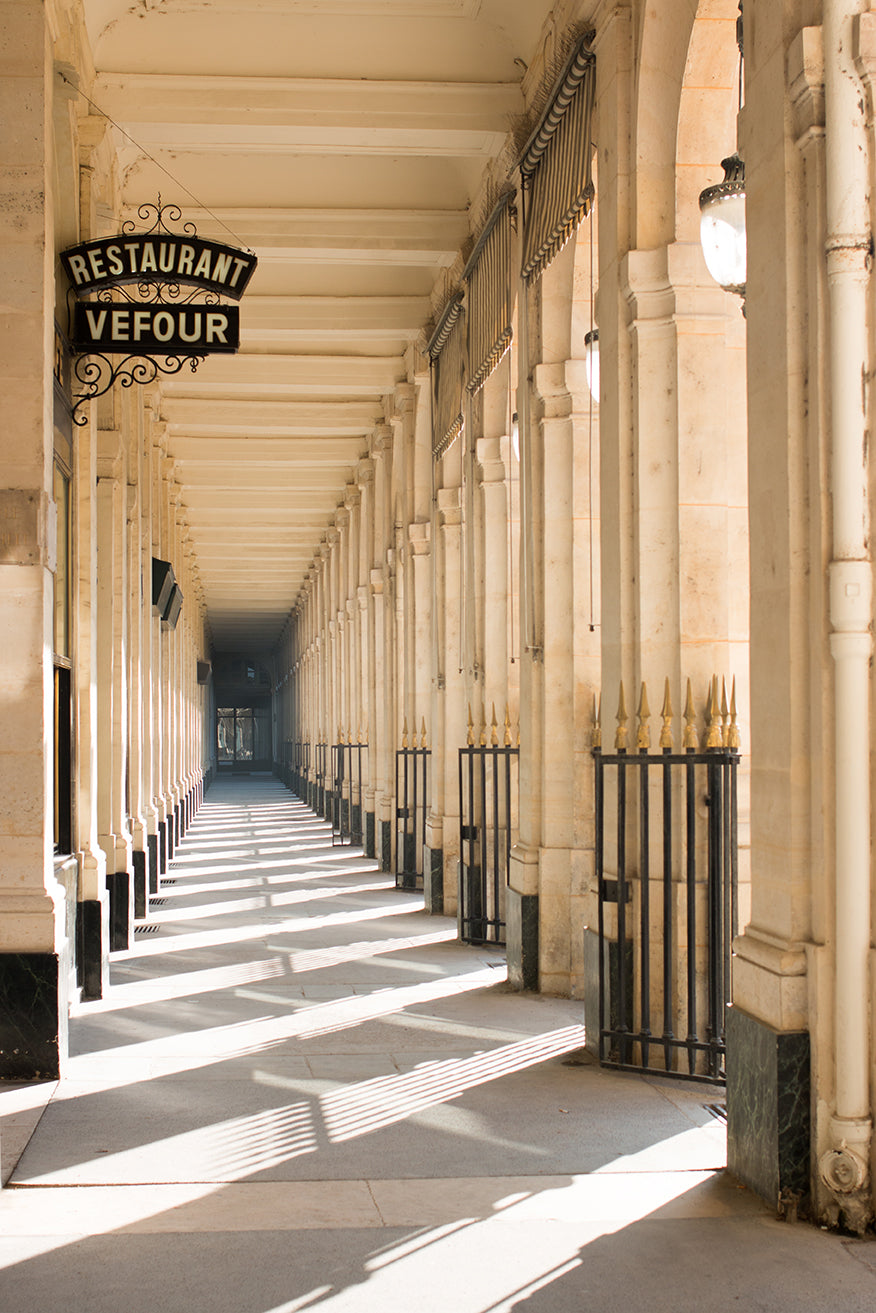 Palais Royal Morning Light - Every Day Paris