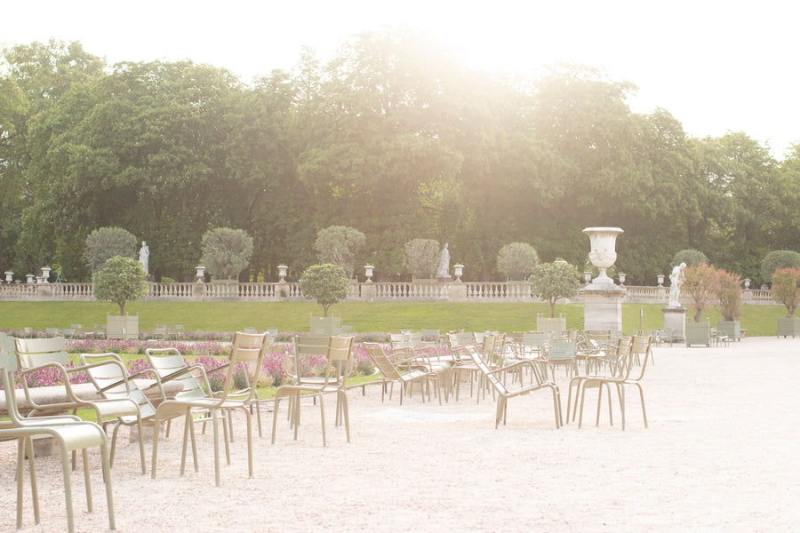 Morning Light in Luxembourg Gardens - Every Day Paris