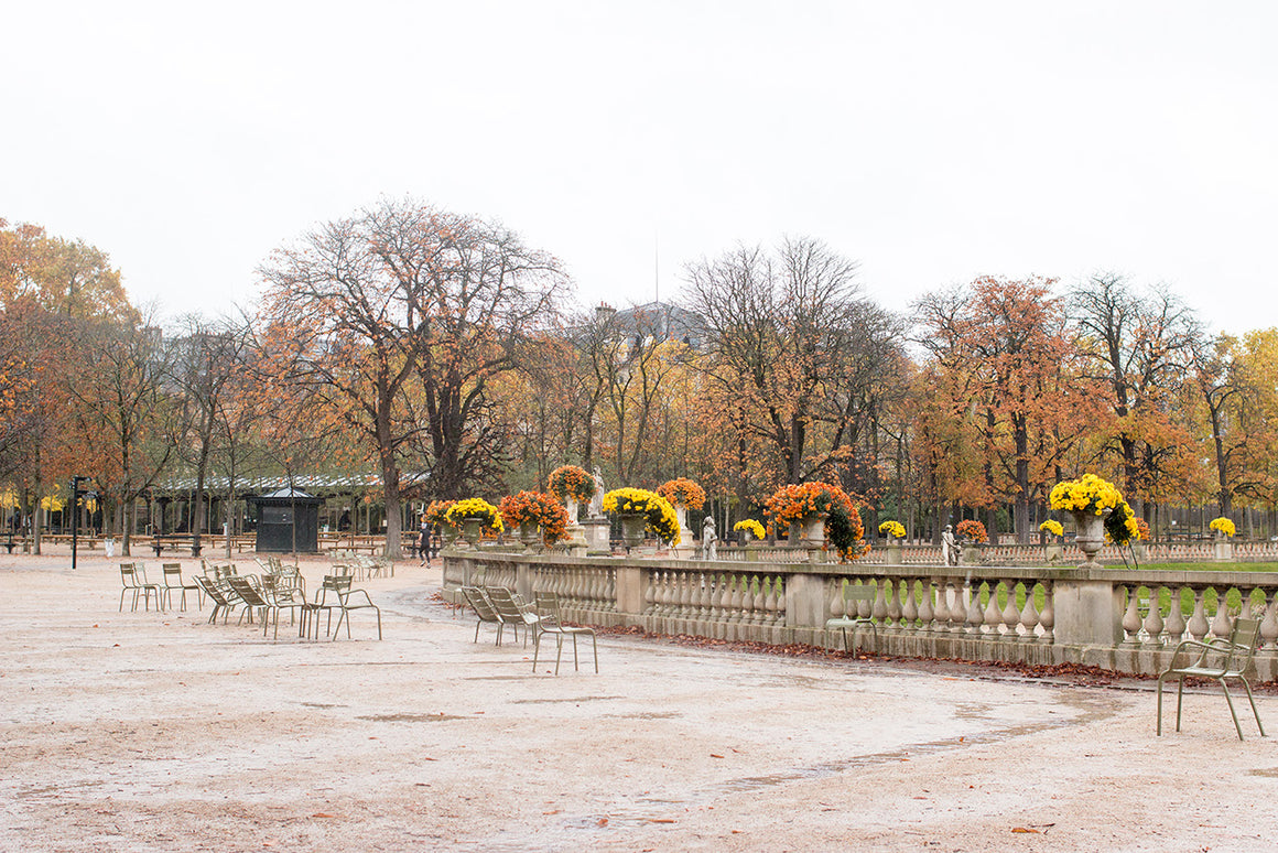 Fall Morning Walk in Luxembourg Gardens - Every Day Paris
