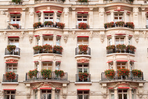 Flowered Balconies at Plaza Athenée