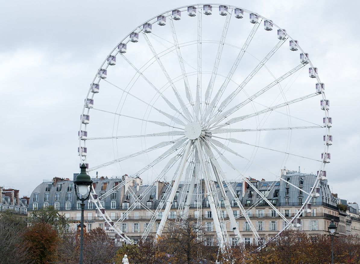 Christmas Morning in The Tuileries - Every Day Paris