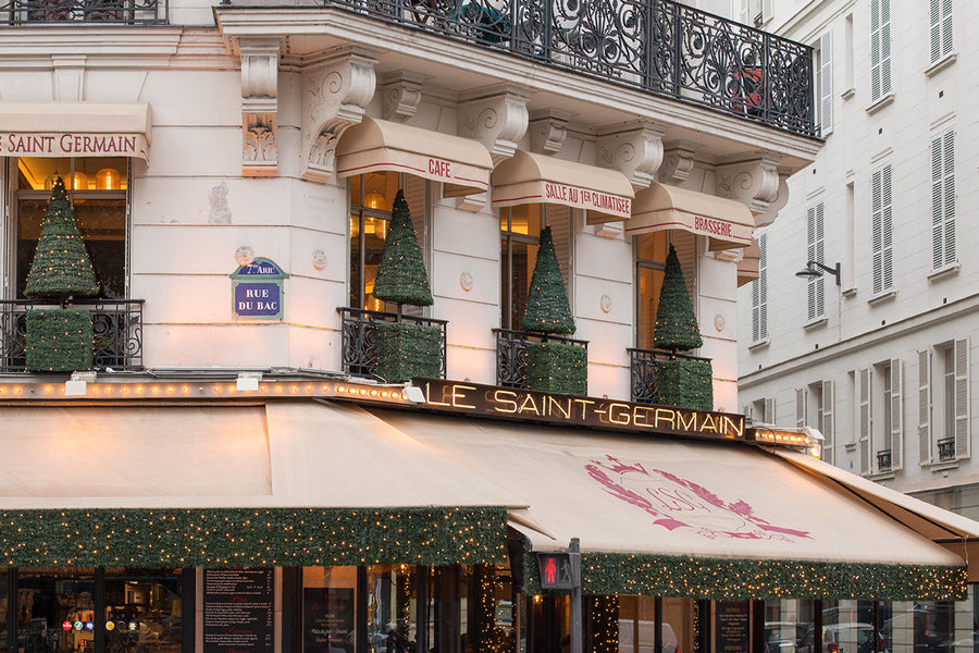 Le Saint-Germain at Christmas