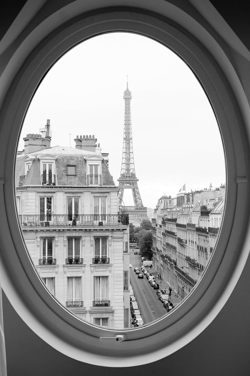 Paris Black and White Print Set of 3 - Every Day Paris